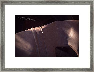 Framed Print featuring the photograph Crushed Nostalgia by Al Swasey