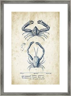 Crustaceans - 1825 - 01 Framed Print