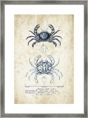 Crustaceans - 1825 - 03 Framed Print