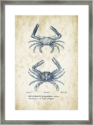 Crustaceans - 1825 - 04 Framed Print
