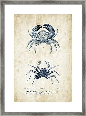 Crustaceans - 1825 - 12 Framed Print
