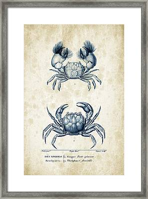 Crustaceans - 1825 - 13 Framed Print