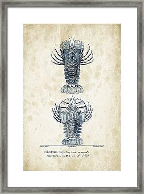 Crustaceans - 1825 - 29 Framed Print