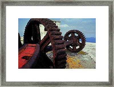 Wheels Of Time Framed Print by Mike Flynn