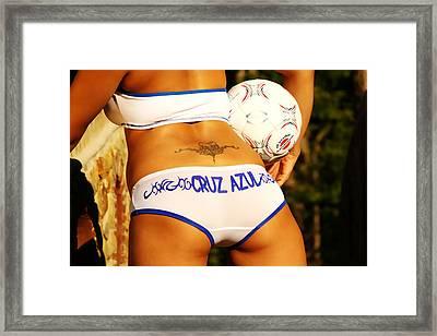 Cruz Azul Framed Print by Tom Miles