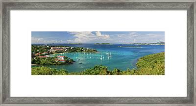 Cruz Bay Framed Print
