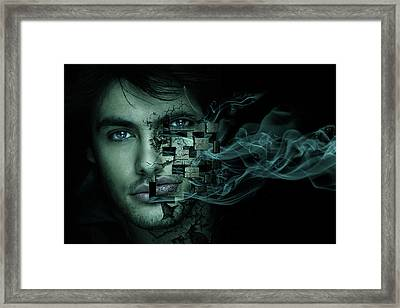 Cry For Help Framed Print