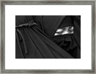 Cry Framed Print by Masyudi Firmansyah