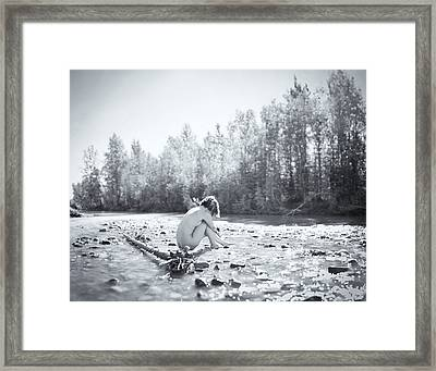 Cry Me A River Framed Print by Ian MacDonald