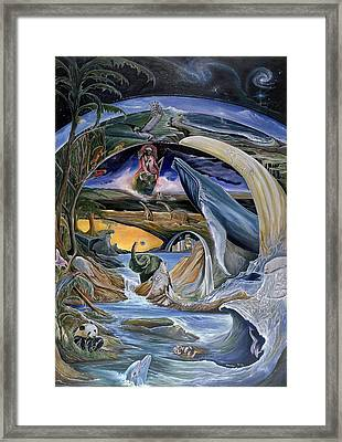 Cry Of Gaia Framed Print by Sevan Thometz