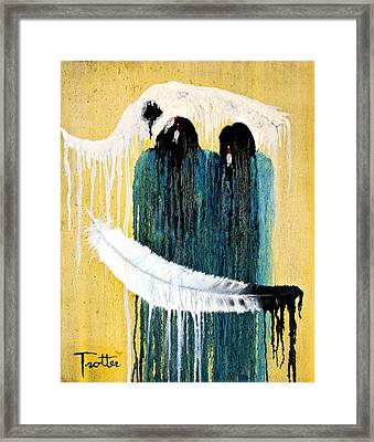 Crying For A Vision Framed Print