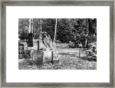 Crying For The Dead Framed Print by John Rizzuto