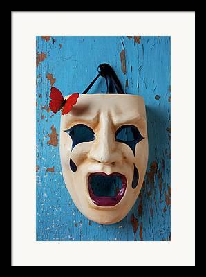 Face Mask Framed Prints