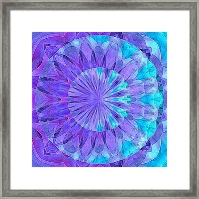 Crystal Aurora Borealis Framed Print