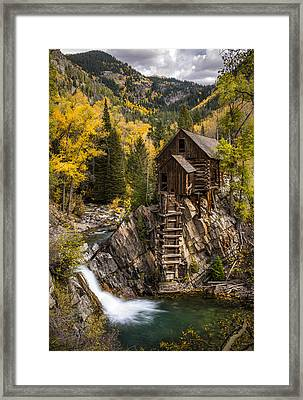 Crystal Autumn Framed Print