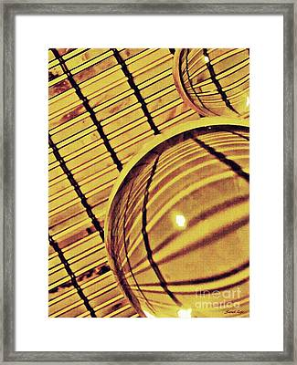 Crystal Ball Project 100 Framed Print