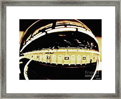 Crystal Ball Project 103 Framed Print