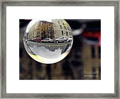 Crystal Ball Project 89 Framed Print by Sarah Loft
