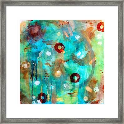 Crystal Blue Persuasion Framed Print by Shelley Graham Turner