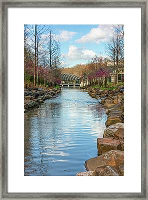 Crystal Bridges Museum Of American Art In Spring - Arkansas Framed Print