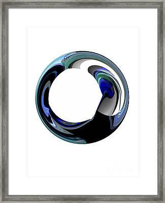 Crystal Alliance Framed Print by Thibault Toussaint