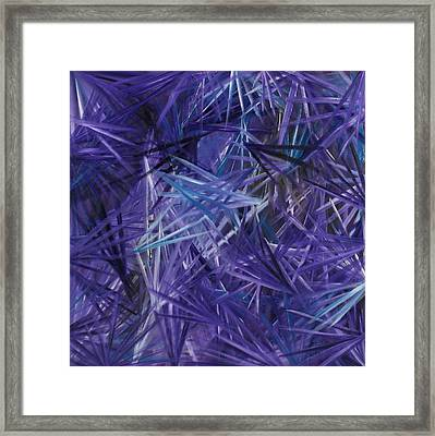 Crystal Clear 2 Framed Print by Karen Rester