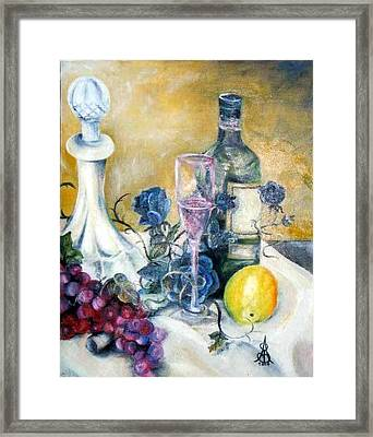 Crystal Clear Framed Print by Amanda  Sanford
