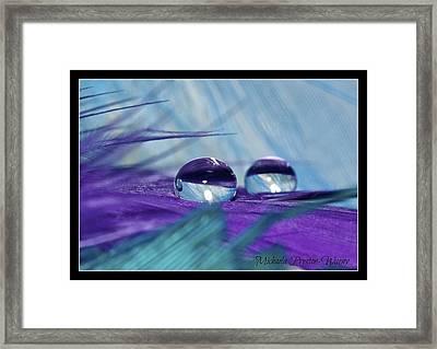 Crystal Clear Framed Print