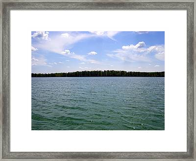 Crystal Clear Persuasion Framed Print by Jessica Yudis