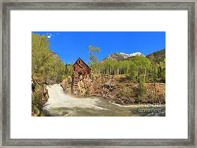 Crystal Colorado Dead Horse Mill Framed Print by Adam Jewell