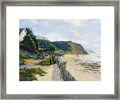 Crystal Cove Afternoon Framed Print