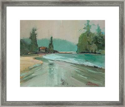 Crystal Cove Beach Framed Print by Ron Wilson