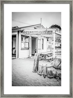Crystal Cove Cottage #46 Sign Photo Framed Print