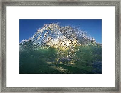 Crystal Crown Framed Print