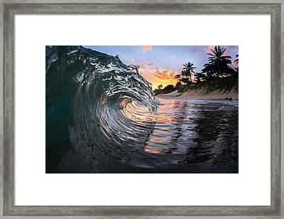 Crystal Dragon Framed Print