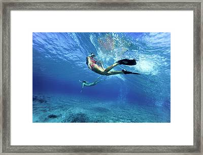 Crystal Dream Framed Print