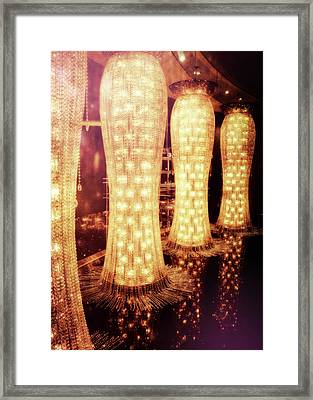 Crystal Dresses Framed Print by JAMART Photography