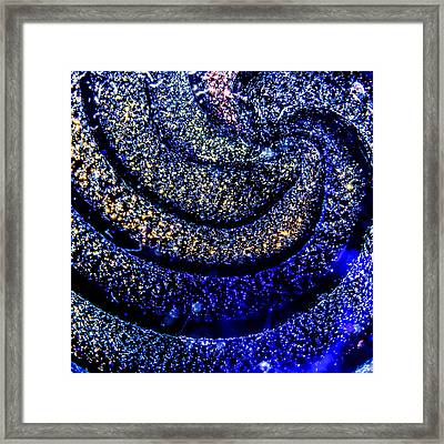 Crystal Galaxy Framed Print