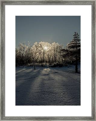 Framed Print featuring the photograph Crystal Glow by Annette Berglund