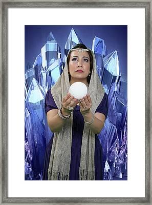 Crystal Goddess Framed Print
