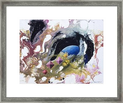 Crystal Hunters Framed Print by Lee Pantas