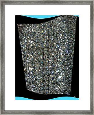 Crystal Ice Framed Print