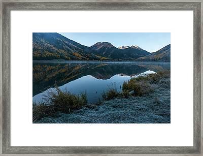 Crystal Lake - 0565 Framed Print