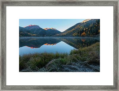 Crystal Lake - 0577 Framed Print