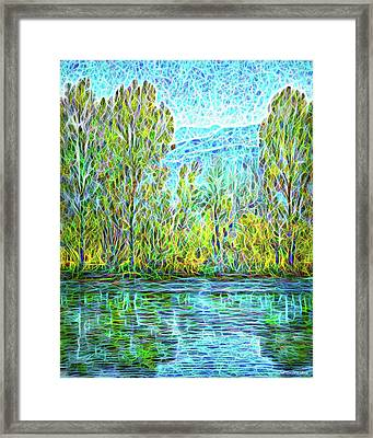 Crystal Lake Enchantment Framed Print