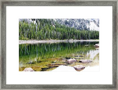 Crystal Lake Framed Print by Valhalla Warrior Photography