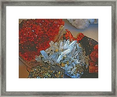 Crystal Medley 5 Framed Print