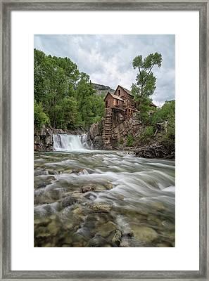 Crystal Mill Colorado 2 Framed Print