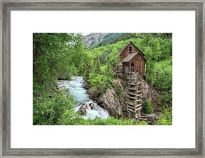 Crystal Mill Colorado 3 Framed Print