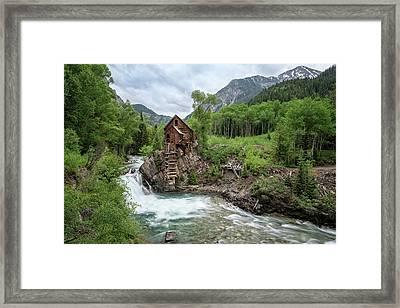 Crystal Mill Colorado 4 Framed Print